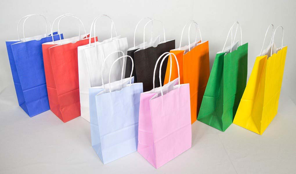 Fábrica de sacolas de papel