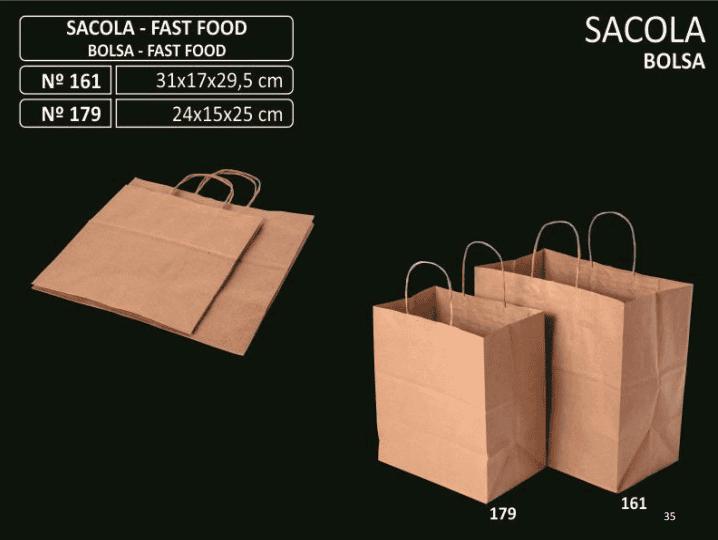 SACOLA FAST FOOD