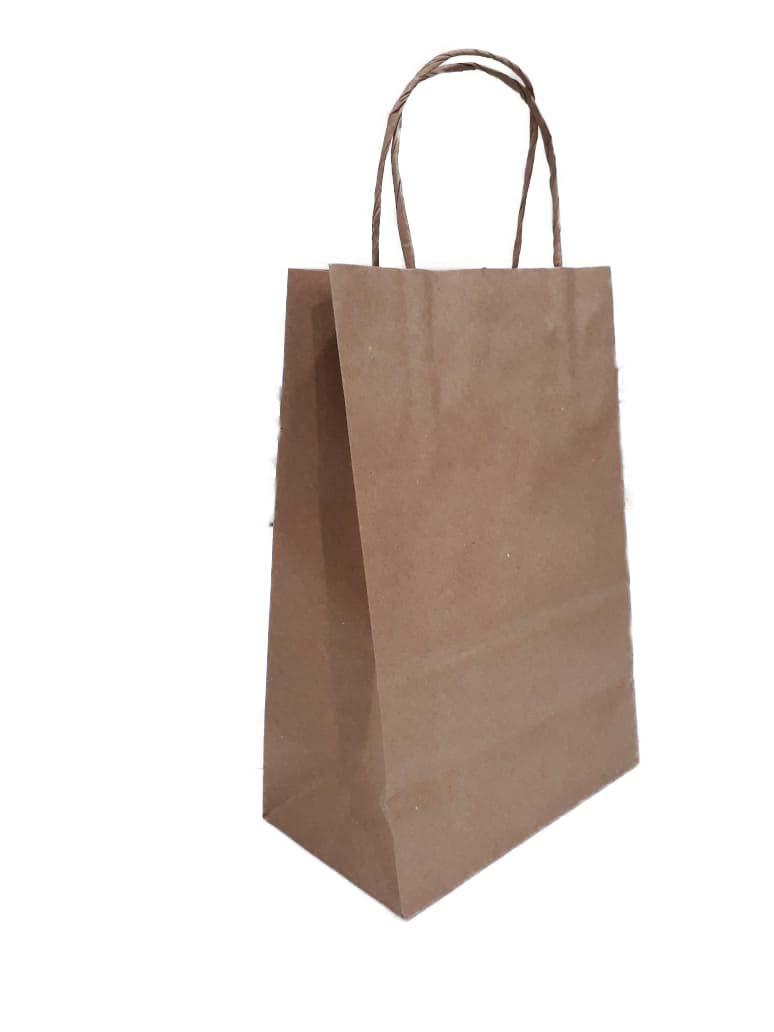 Fábrica de sacolas de papel kraft