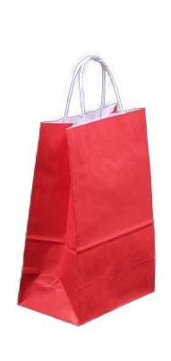 Sacolas de papel coloridas onde comprar